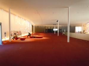 芸術館2階