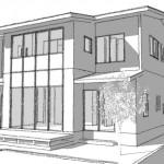 2017 長野市のモデルハウス基本デザイン