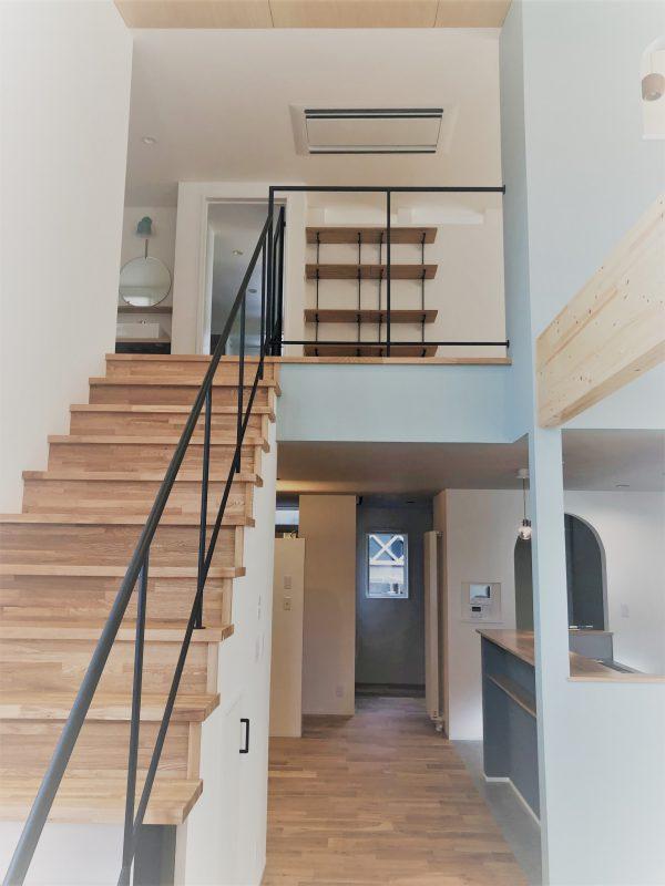 2019 中野市の2世帯の家